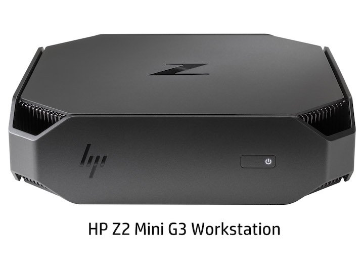 HP Z2 Mini G3 Workstation