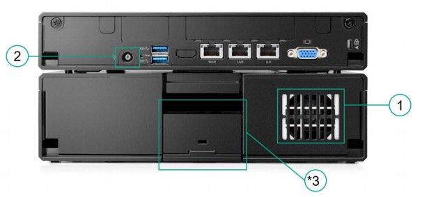 ProLiant Easy Connect EC200a Server