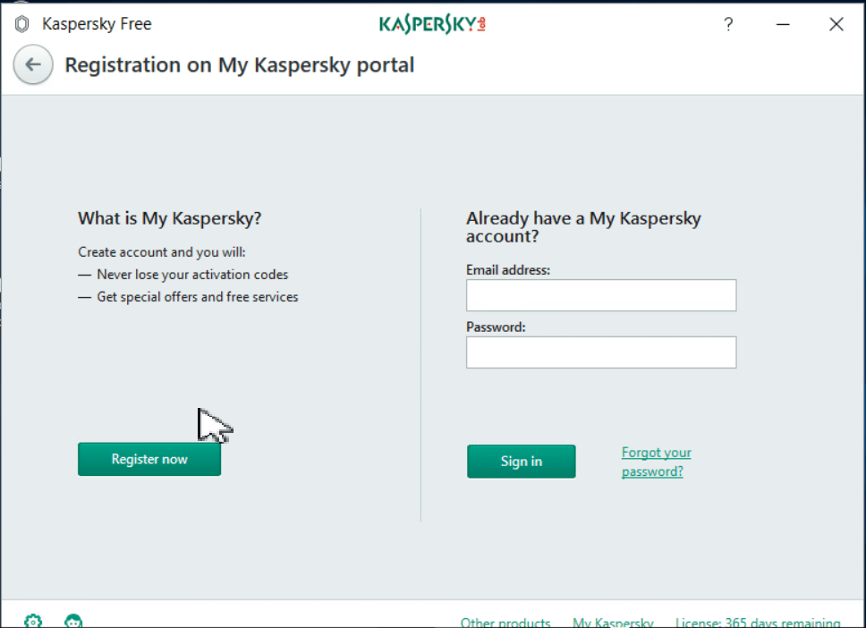 Kaspersky Free