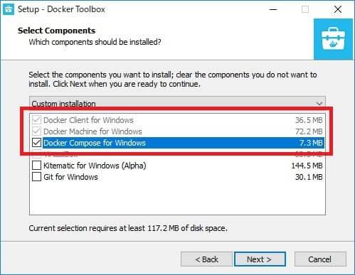 VMware Workstation が導入された環境で、Docker Toolboxを利用する方法