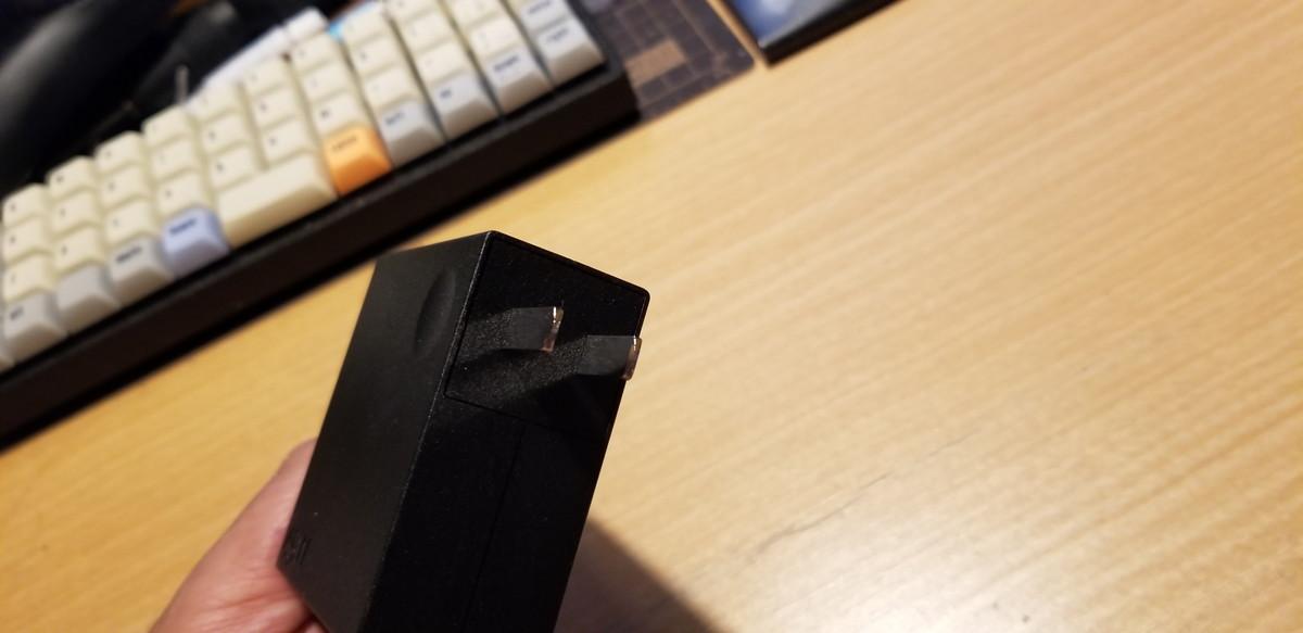 LenovoのUSB Type C ACアダプタが結構よさげ