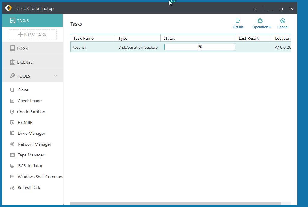 Windows 10更改に役立つ安価なバックアップツール、EaseUS Todo Backup