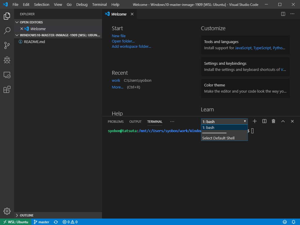 Visual Studio Codeの「Remote - WSL」がめちゃくちゃ便利