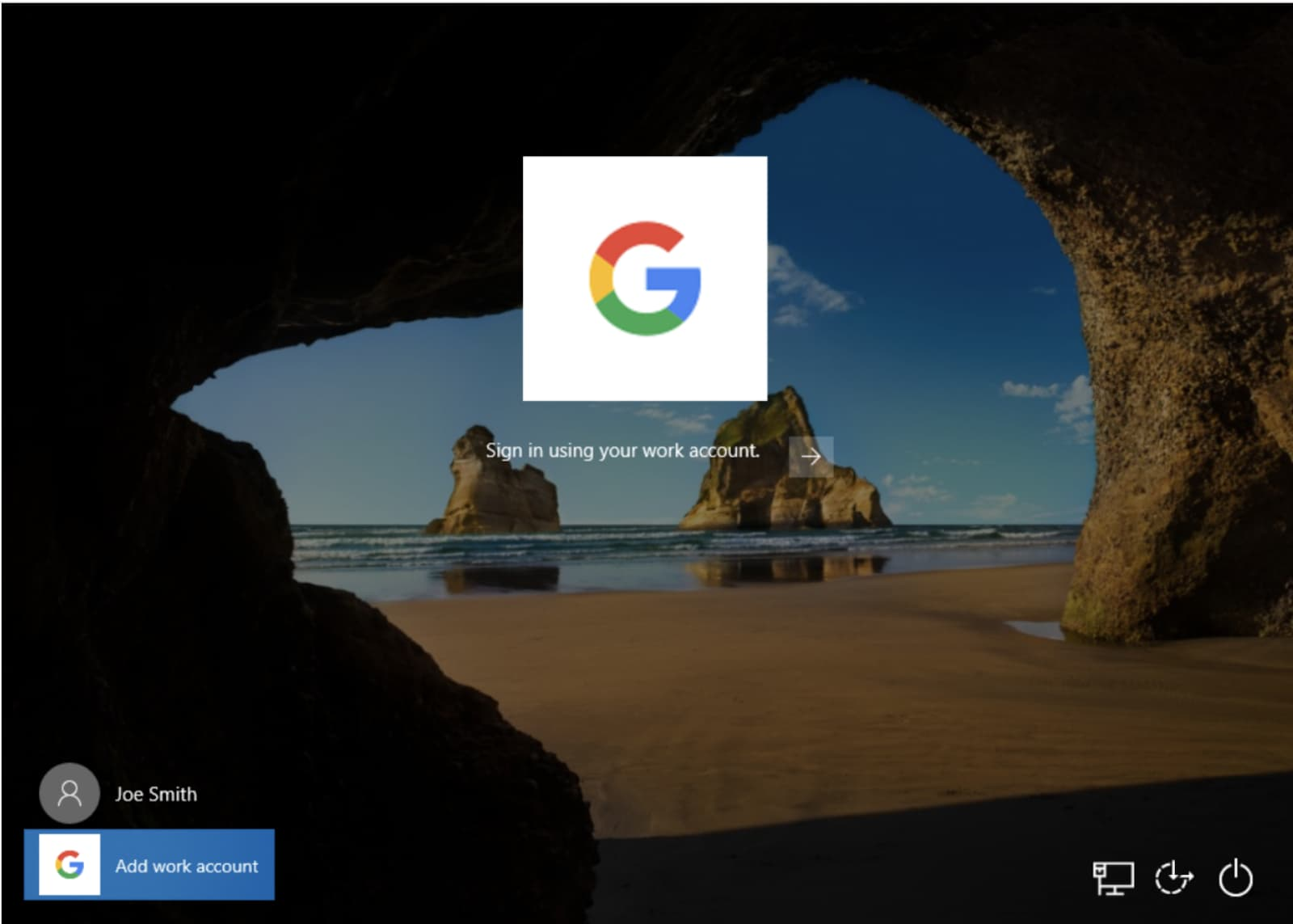 GSuiteアカウントでWindows 10へログインできるように、GSuite 管理コンソールからWindowsデバイスを管理する機能更新