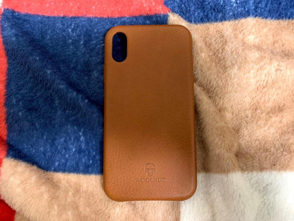 ナッパレザーのiPhone XRケース、「Woolnut iPhone XR Premium Soft Case」がとてもよかった