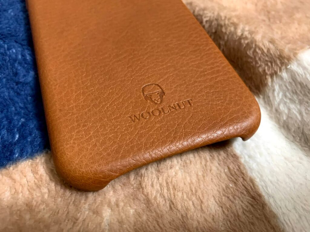 ナッパレザーのiPhone XRケース、「Woolnut iPhone XR Premium Soft Case」がとてもよかった